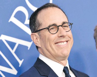 ?? THE ASSOCIATED PRESS ?? In comedian Jerry Seinfeld's new book, Is This Anything?, the comic reveals a timeline of jokes he's written over the past 45 years.