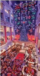"""??  ?? ( FROM LEFT) FEDERAL DONUTS; """"THE CHRISTMAS LIGHT SHOW"""" AT MACY'S"""