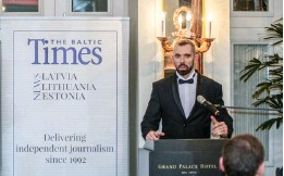 ??  ?? Linas Jegelevicius, editor-in-chief of The Baltic Times.