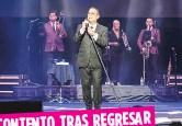 ?? Suministrada ?? Gilberto Santa Rosa ofreció tres presentaciones el fin de semana.