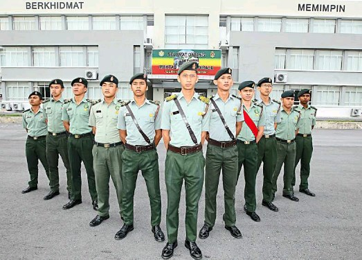 ??  ?? The Royal Military College emphasising racial integration among its students by treating every student the same and making them undergo a similar routine with strict rules.