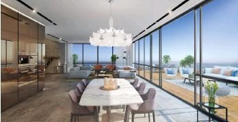 ?? הדמיה: 3Ddesign ?? דירות יוקרה בפרויקט נגה