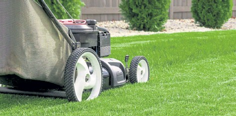 ??  ?? Forget mowing the lawn the old way, longmont's Scythe robotics has created a fully autonomous, all-electric commercial mower.