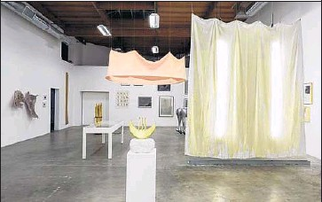 """?? Fredrik Nilsen ?? """"LET POWER Take a Female Form,"""" installation view. Corazon del Sol looks to her art-world forebears."""