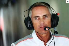 ??  ?? 03. 马丁·惠特马什:1989年进入迈凯伦,在2004年成为迈凯伦 F1车队首席执行官。03