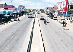 ?? MINISTRY OF PUBLIC WORKS AND TRANSPORT ?? Sections of National Road 3 from Phnom Penh to Kampot have speed cameras installed on May 29.