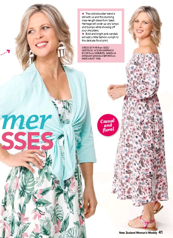 Pressreader New Zealand Woman S Weekly 2017 11 27 Casual And Floral