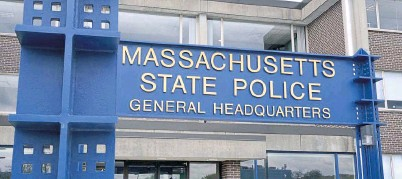 ?? CHRIS cHRISTO / HERALD fILE ?? BUSTED: Massachusetts State Police Trooper Michael Atton has been arrested a second time, reportedly for violating a restraining order after being relieved of his duties when initially being charged with assaulting his wife.