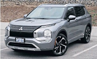 ?? CHRIS BALCERAK • POSTMEDIA NEWS ?? The exterior styling may be the new Outlander's best foot forward.