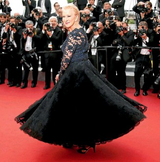 ?? PHOTO: REUTERS ?? Helen Mirren always looks fabulous on the red carpet but why do women have to be reduced to their age and what they are wearing, asks Beck Eleven.