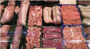 ?? KEY ?? Die Fleischproduktion ist in der Herstellung und Produktion eine Belastung für die Umwelt.