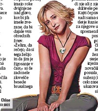?? FOTO: WARNER BROS ?? Zaslovela je kot simpatična Chloe v seriji Smallville.
