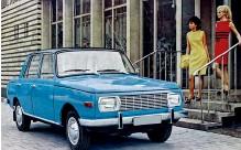 ??  ?? По дизайну Wartburg 353 во второй половине шестидесятых был вполне на европейском уровне. Универсал Wartburg 353/ 1 Tourist.