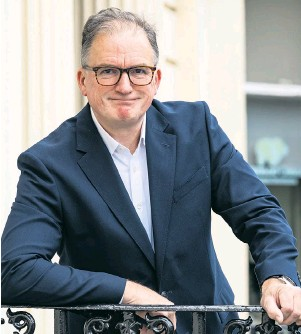 ??  ?? Jon Lewis, chief executive of Capita, wants to help his employees embrace flexible working models