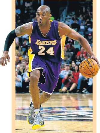 ?? ARCHIVO ?? Kobe Bryant, en un partido de los Lakers