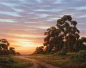 "??  ?? Douglas Preserve Winter Sunset, oil, 16 x 20"""
