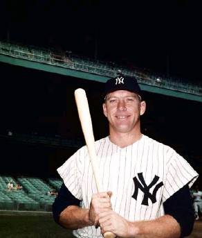 ??  ?? In 1962, star player Mickey Mantle at Yankee Stadium.