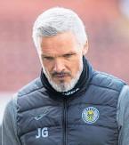 ??  ?? St Mirren manager Jim Goodwin