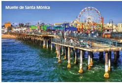 ??  ?? Muelle de Santa Mónica