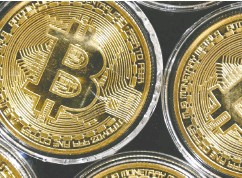 ?? OZAN KOSE/ AFP VIA GETTY IMAGES ?? Bitcoin, which has marginal intrinsic value, relies on the faith of its holders that it is worth more than nothing.