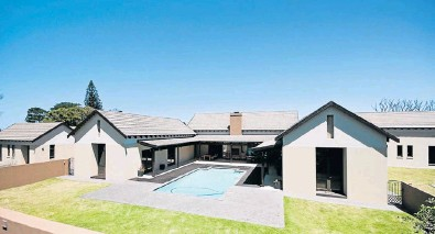 ??  ?? ADDING VALUE: This luxury home in Seaview has set a new sales record which holds promise for property values in the area