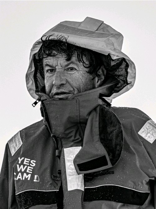 ??  ?? Jean Le Cam (above) is a master mariner and one of the world's most experienced singlehanded offshore sailors.