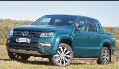 ??  ?? D'année en année, au sommet de sa gamme, l'Amarok devient de plus en plus luxueux et performant. Volkswagen Amarok double cabine V6 TDI 258 4Motion Aventura 57 960 € 258 ch CO2 : 220 g/km