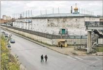 ?? EL PAÍS ?? Cárcel. Una colonia penal masculina de Omsk, en Siberia, en 2018.