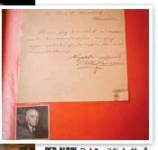 ?? FOTO: CLAUDIO BRITOS ?? PER-ALBIN. Det är viktigt att på egen hand försöka få autografen av kändisen, menar Henrik. Här är ett rimligt undantag.