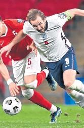 ??  ?? Harry Kane on England duty