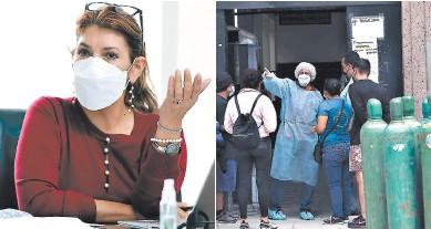 ??  ?? Alba Consuelo Flores, ministra de Salud, conversó con EL HERALDO sobre el abastecimiento del Almacén Central. Los medicamentos que compraron los funcionarios de los hospitales son más caros que los que adquiere Sesal.