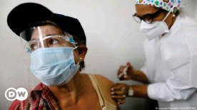 ??  ?? Sputnik V is already being used in Venezuela to immunize the first group of people