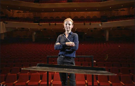 ?? TORONTO STAR FILE PHOTO ?? Gemma New, music director of the Hamilton Philharmonic Orchestra, says the upcoming season is designed to reach as many people as possible.
