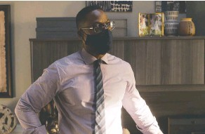 ??  ?? Sterling K. Brown's performance as Randall, a Black man adopted by a white family and addressing race issues, gives This Is Us more depth.