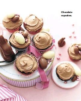 ??  ?? Chocolate cupcakes.