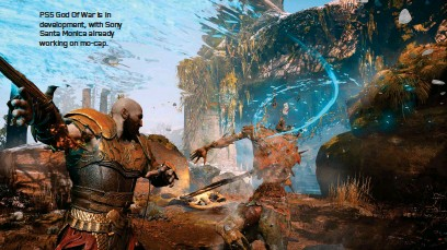 ??  ?? PS5 God Of War is in development, with Sony Santa Monica already working on mo-cap.