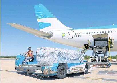 ?? NA ?? El vuelo AR1602 partirá del Aeropuerto de Ezeiza sin escalas hacia el aeropuerto Sheremétievo de Moscú.