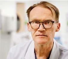 """?? FOTO: STEFAN KÄLLSTIGEN ?? DYSTERT. """"Jag hoppas att de har politiskt mod nog att backa om det fortsätter att gå åt fel håll"""", säger överläkare Johan Styrud."""