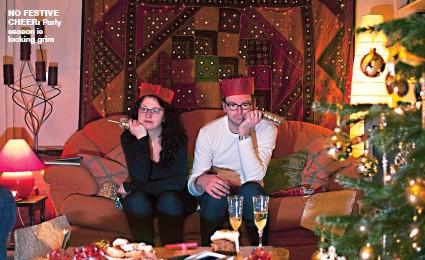 ??  ?? NO FESTIVE CHEER: Party season is looking grim