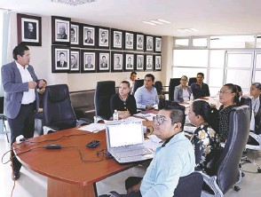 ??  ?? Se cuenta con la asesoría del IEEG a fin de que la actividad sea realizada de manera transparente./ Nayely Martínez