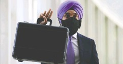 """?? Sean Kilpat rick / the Cana dian press files ?? """"This culture of being risk-averse is a challenge for Canada,"""" Minister of Innovation, Science and Industry Navdeep Bains said."""
