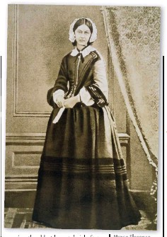 ??  ?? Nurse Florence Nightingale was named after her birthplace