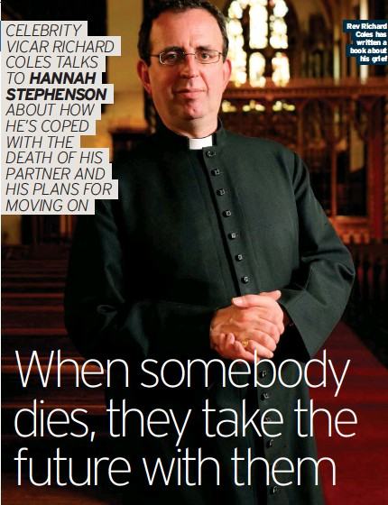 ??  ?? Rev Richard Coles has written a book about his grief