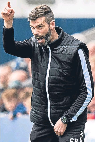 ??  ?? TO THE POINT: Stuart Kettlewell hopes he and co-manager Steven Ferguson can bring success to Ross County