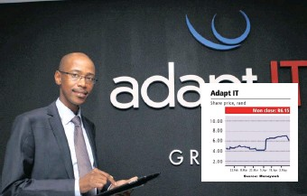 ?? GCINA NDWALANE ?? ADAPT IT chief executive Sbu Shabalala is at the centre of negative press while the firm also announced the extension of its fulfilment date for its acquisition by the Volaris Group to May 14.   African News Agency (ANA)