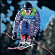 ?? By Alex Livesey, Getty Images ?? In action: Puckett competed for the USA in ski cross Sunday.