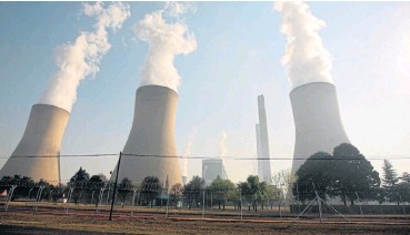?? /File picture ?? Fossil fuel addiction: South Africa still relies heavily on coal for its energy needs.