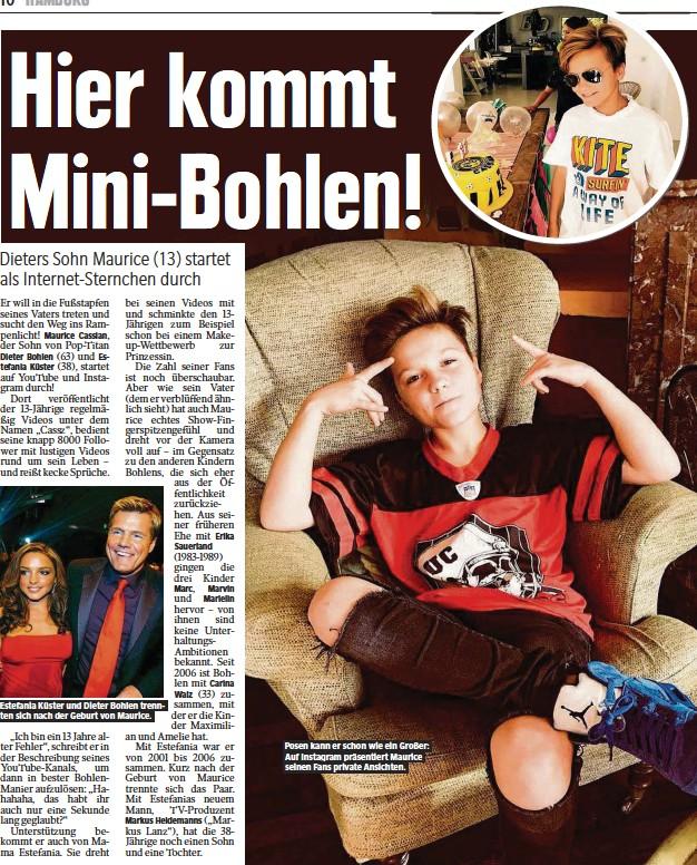 Pressreader Hamburger Morgenpost 2018 02 07 Hier Kommt Mini Bohlen