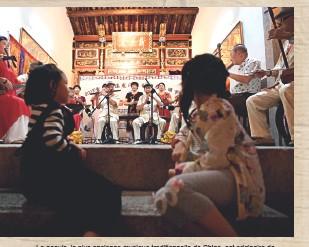 ??  ?? Le nanyin, la plus ancienne musique traditionnelle de Chine, est originaire de Quanzhou.
