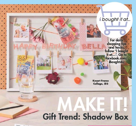 Pressreader New Idea 2019 11 25 Make It Gift Trend Shadow Box